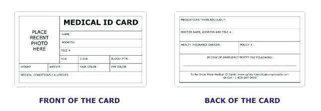 17 The Best Child Id Card Template Word Templates by Child Id Card Template Word
