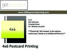 18 Adding 4X6 Postcard Template For Word Maker with 4X6 Postcard Template For Word