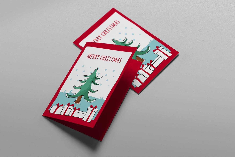 18 Best Christmas Card Template Illustrator Free Layouts by Christmas Card Template Illustrator Free