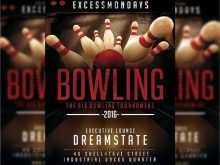 18 Blank Bowling Flyer Template Free Layouts with Bowling Flyer Template Free