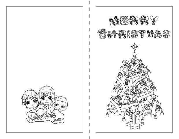 18 Blank Christmas Card Colouring Templates Free in Photoshop by Christmas Card Colouring Templates Free