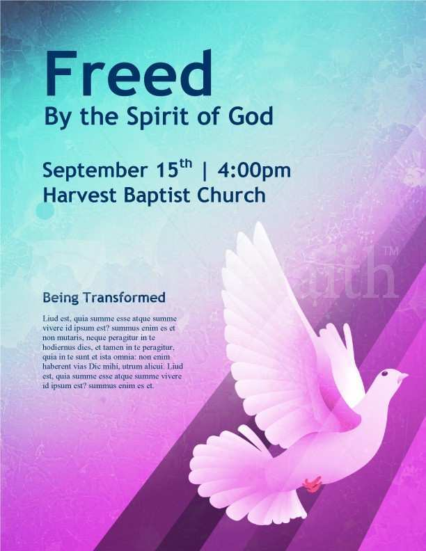 18 Create Church Flyer Templates Formating for Church Flyer Templates