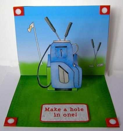 18 Create Golf Pop Up Card Template Photo by Golf Pop Up Card Template