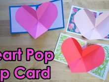 18 Create Heart Card Templates Youtube Download with Heart Card Templates Youtube