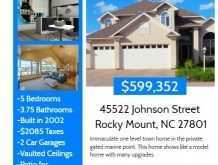 18 Create Real Estate Flyer Templates in Word for Real Estate Flyer Templates