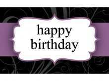 18 Creating Birthday Card Template Word A4 Templates by Birthday Card Template Word A4