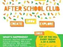 18 Customize Our Free After School Flyer Template Free Now for After School Flyer Template Free