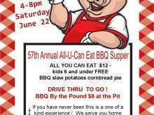 18 Format Bbq Fundraiser Flyer Template Formating with Bbq Fundraiser Flyer Template