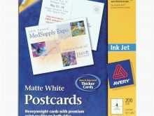 Postcard Template 8387