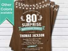18 Free 60Th Birthday Card Template Free for Ms Word for 60Th Birthday Card Template Free