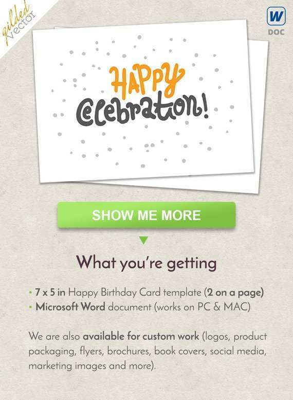 18 Free Anniversary Card Template For Microsoft Word Now with Anniversary Card Template For Microsoft Word