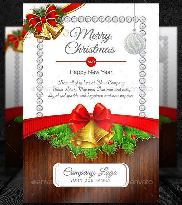 18 Free Printable Christmas Greeting Card Template Psd With Stunning Design with Christmas Greeting Card Template Psd