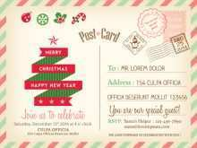 18 Free Printable Retro Christmas Card Templates Maker by Retro Christmas Card Templates