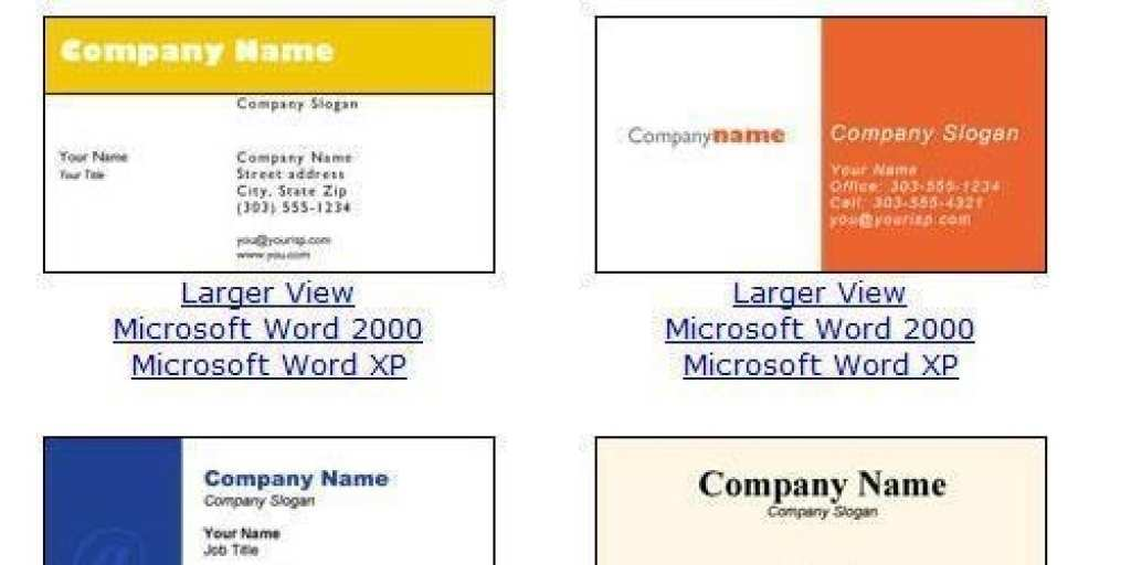 18 How To Create Business Card Templates Microsoft Word Now for Business Card Templates Microsoft Word