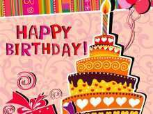 Happy Birthday Card Templates To Print