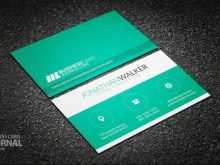 Minimalist Business Card Template Free Download