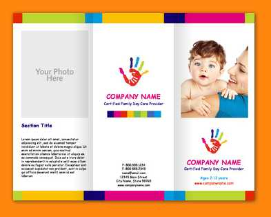 18 Online Child Care Flyer Templates with Child Care Flyer Templates