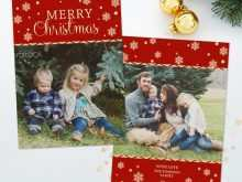 Christmas Card Template Photographer
