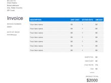 18 Printable Construction Invoice Template Doc With Stunning Design for Construction Invoice Template Doc