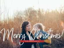 High Resolution Christmas Card Templates