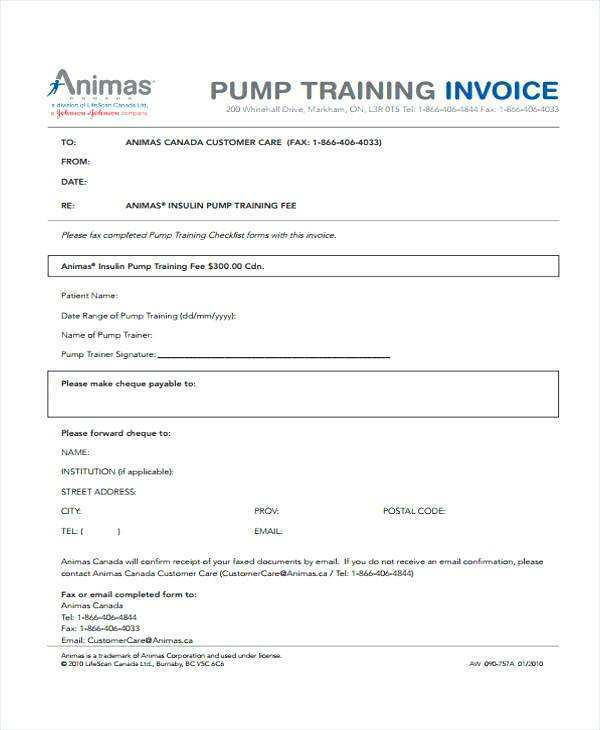 18 Printable Personal Training Tax Invoice Template Download with Personal Training Tax Invoice Template