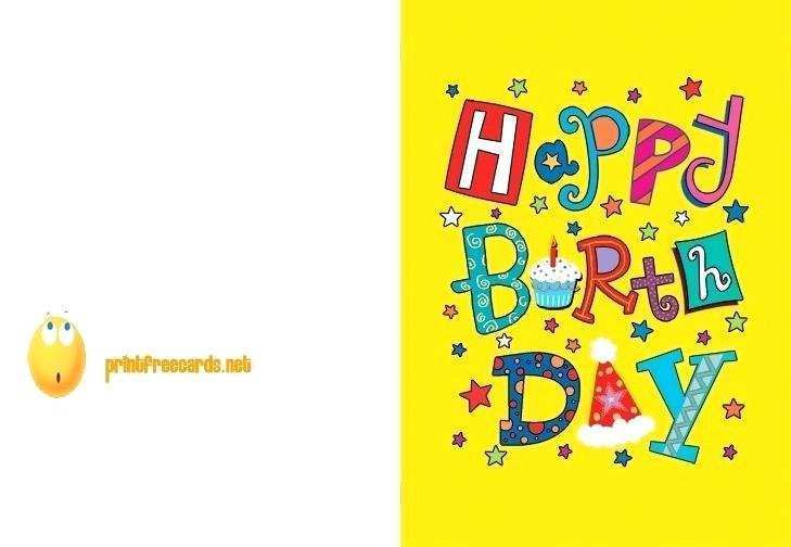 18 Report 2 Fold Birthday Card Template Photo by 2 Fold Birthday Card Template