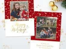18 Standard Christmas Card Template Photographer For Free with Christmas Card Template Photographer