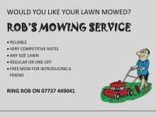 18 Standard Free Lawn Mowing Flyer Template Now for Free Lawn Mowing Flyer Template