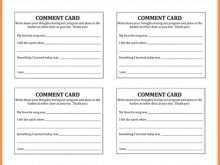 18 The Best Comment Card Template Restaurant Free Photo with Comment Card Template Restaurant Free