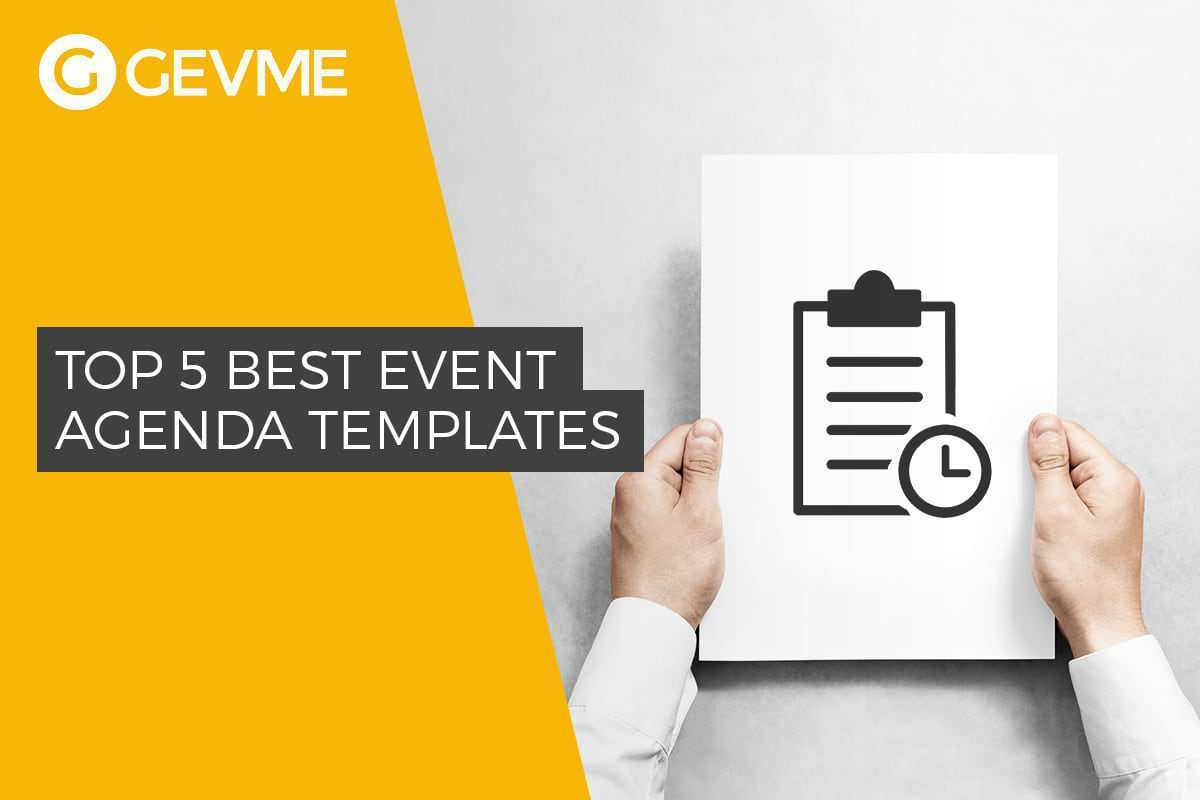 18 Visiting Agenda Template For Event Download with Agenda Template For Event