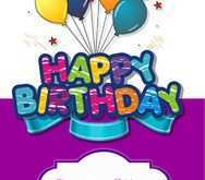 19 Best Birthday Card Template Hd Formating with Birthday Card Template Hd