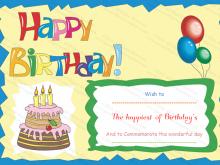 19 Creative Birthday Gift Card Template Word Templates by Birthday Gift Card Template Word