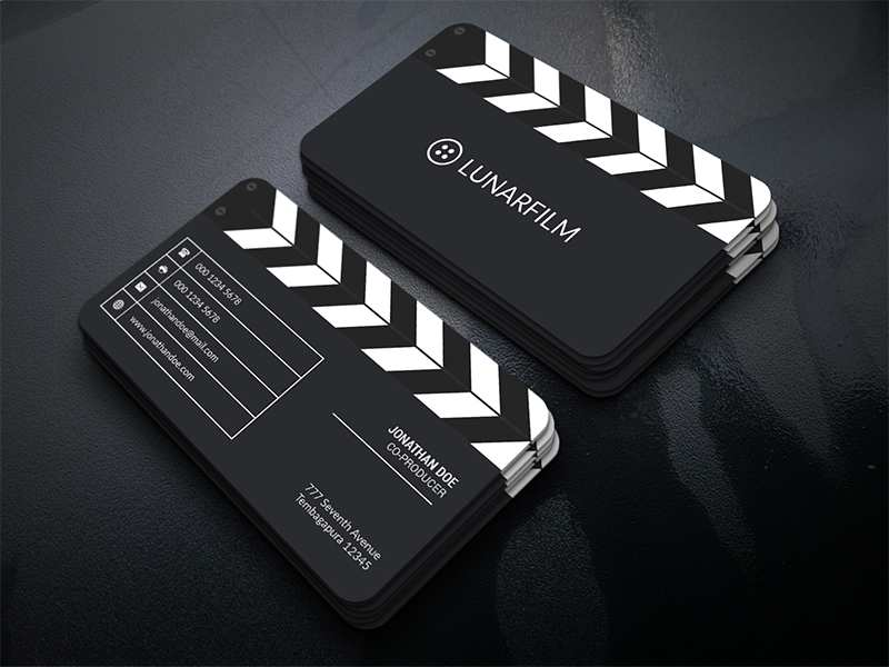 19 Creative Business Card Template Videographer for Ms Word by Business Card Template Videographer