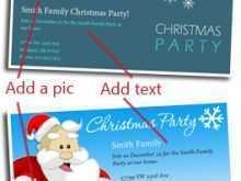 19 Creative Christmas Card Invitations Templates For Free for Christmas Card Invitations Templates