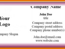 19 Customize Blank Business Card Template For Word 2010 Download with Blank Business Card Template For Word 2010