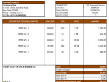 19 Customize Blank Gst Invoice Format In Excel For Free for Blank Gst Invoice Format In Excel