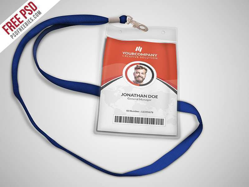 19 Customize Business Id Card Template Psd Now by Business Id Card Template Psd