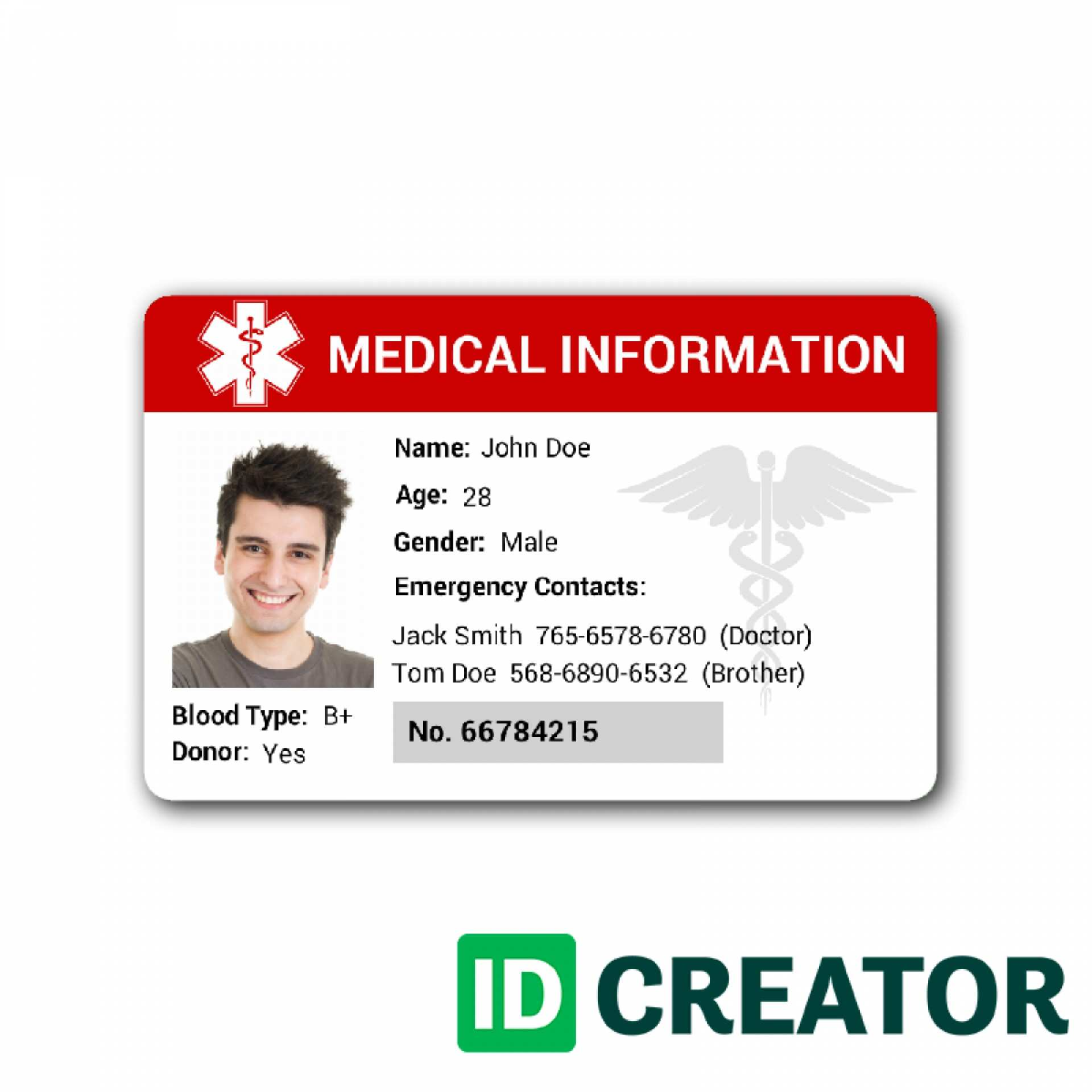 Free Id Card Maker Template Cards Design Templates