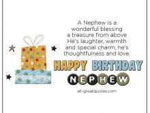 19 Format Birthday Card Template For Nephew For Free by Birthday Card Template For Nephew