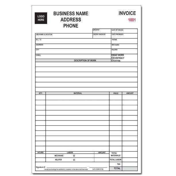 19 Free Appliance Repair Invoice Template Templates with Appliance Repair Invoice Template