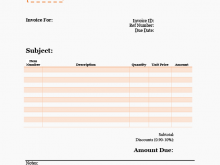 19 How To Create Blank Invoice Template For Free for Blank Invoice Template