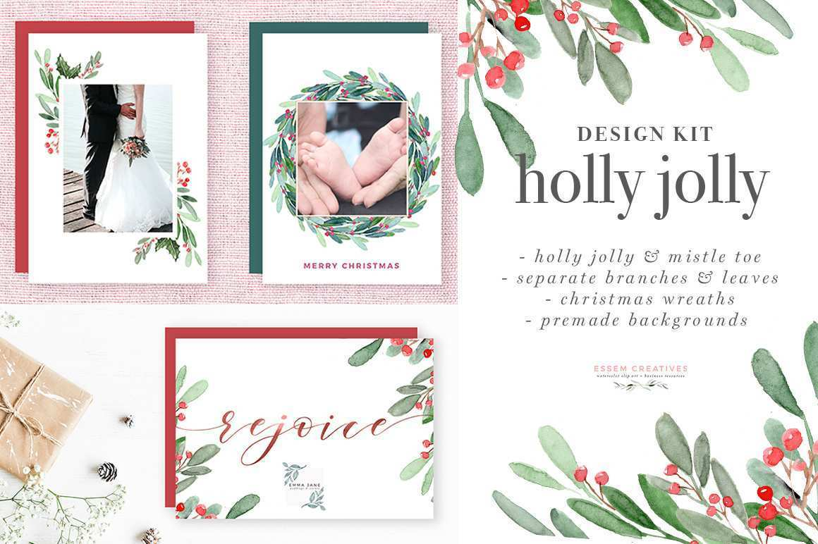 19 How To Create Christmas Card Template A4 With Stunning Design with Christmas Card Template A4