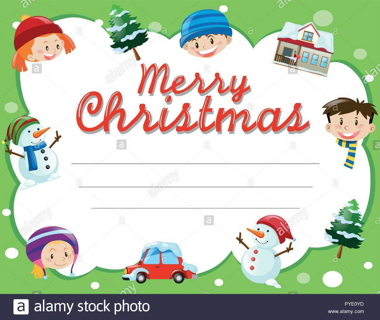 19 How To Create Christmas Card Templates For Schools With Stunning Design for Christmas Card Templates For Schools