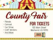 19 How To Create County Fair Flyer Template With Stunning Design for County Fair Flyer Template
