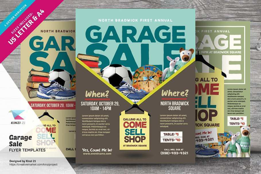 19 How To Create Garage Sale Flyer Template For Free by Garage Sale Flyer Template