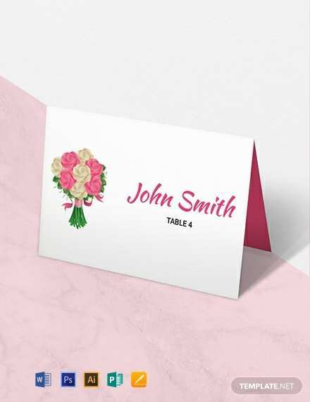 19 How To Create Place Card Template Free Download Word Now with Place Card Template Free Download Word