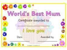 Mother'S Day Card Template Twinkl