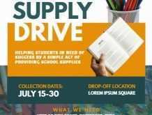 19 Standard Back To School Supply Drive Flyer Template in Word by Back To School Supply Drive Flyer Template
