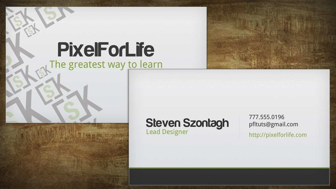 19 Standard Business Card Template For Youtube for Business Card Template For Youtube