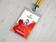 19 Standard Employee Id Card Template Ai Free Download Formating by Employee Id Card Template Ai Free Download